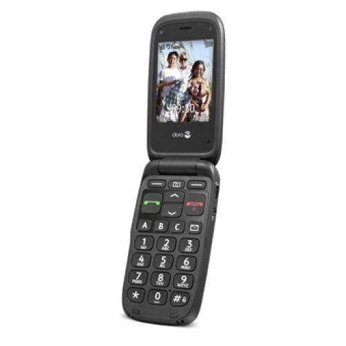 Doro PhoneEasy 612 - Zwart/Zwart