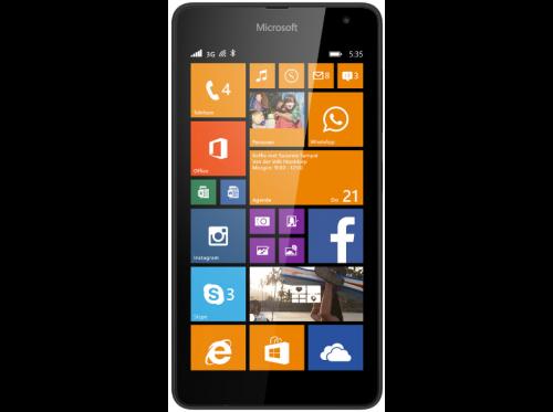 Nokia Lumia 535 Zwart