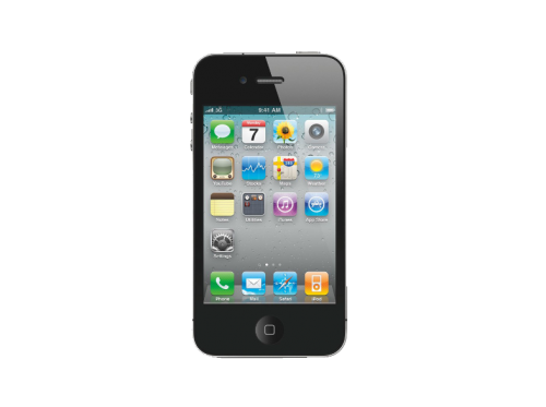 APPLE iPhone 4 8 GB Zwart