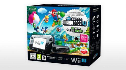 Nintendo Wii U Mario + Luigi Premium Pack 32GB