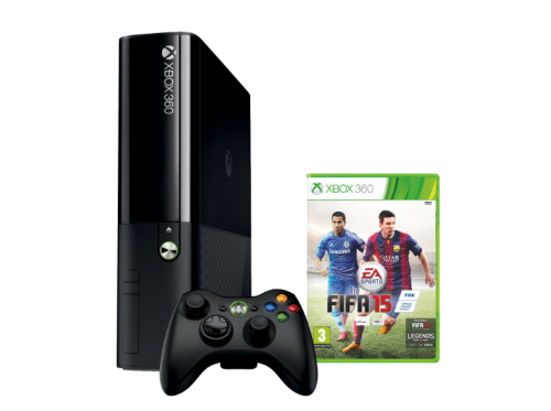 Microsoft Xbox 360 500 GB FIFA 15 Pack