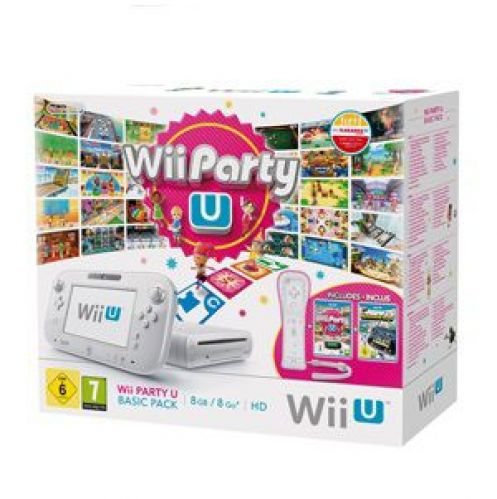 Nintendo Wii U Party 8GB + NintendoLand + Wii Remote Plus