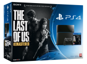 Sony Playstation 4 console + The last of us: Remastered