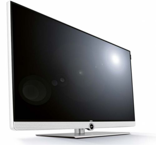 Loewe ART 40 DC Full HD TV - aluminium/wit