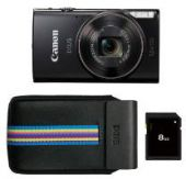 Canon iXUS 285 HS zwart Essential Kit