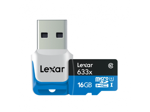Lexar SDHC Micro High Speed 16GB 633X Class 10