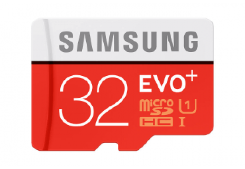 SAMSUNG MicroSD EVO+ 32GB + adapter