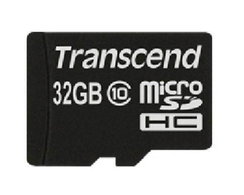 Transcend microSDHC Class 10