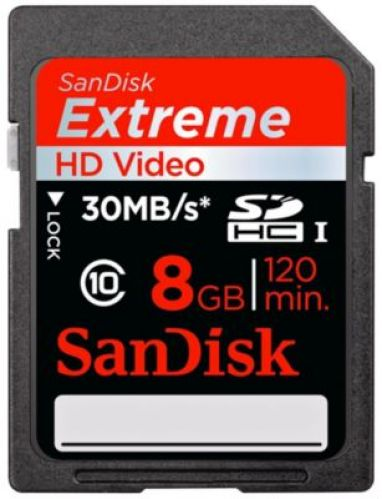 Sandisk SDHC ExtremeIII With MicroMate (8 GB)