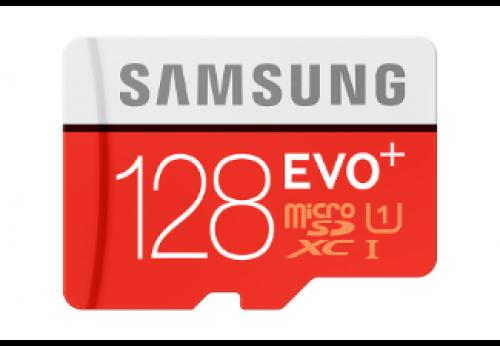 SAMSUNG MicroSD EVO+ 128GB + adapter
