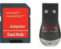 Sandisk MobileMate Duo + Micro SD adapter