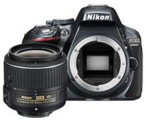 Nikon Nikon D5300 antraciet + 18-55mm VR II
