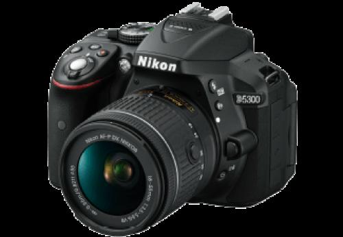 NIKON D5300 + AF-P 18-55 VR Zwart