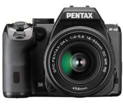 Pentax K-S2 zwart + 18-50mm