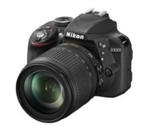 Nikon Nikon D3300 zwart + 18-105mm VR