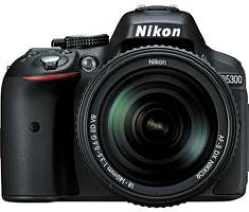 Nikon Nikon D5300 zwart + 18-140mm VR