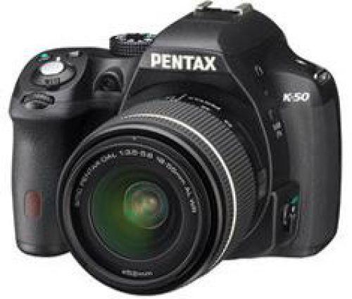 Pentax Pentax K-50 zwart + 18-55mm WR zwart