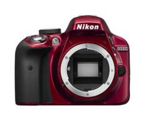 Nikon Nikon D3300 body rood