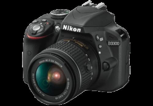 NIKON D3300 + AF-P 18-55mm VR Kit