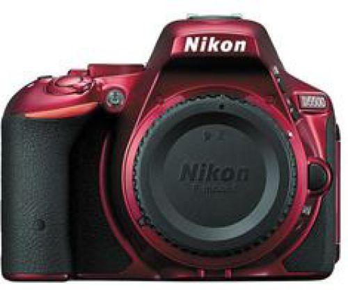 Nikon D5500 body rood