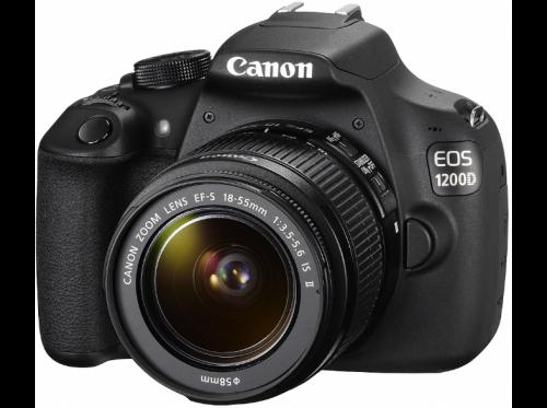 Canon EOS 1200D en 18-55mm