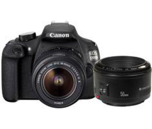 Canon Canon EOS 1200D + 18-55mm iS II + 50mm F/1.8 II
