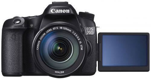 Canon EOS 70D EF-S 18-135 IS STM