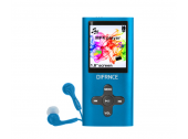 Difrnce Mp4 4Gb Mp1851 Blauw