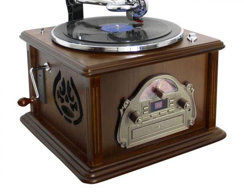 Soundmaster NR912 nostalgische grammofoon met radio, cd- en pl