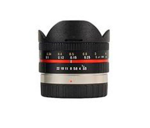 Samyang Samyang 7,5mm F/3.5 Micro 4/3 zwart