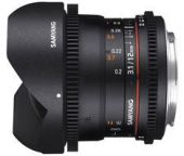 Samyang 12mm T3.1 VDSLR ED AS NCS fisheye Sony E-m